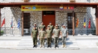 Official visit of LTG Dimokritos ZERVAKIS, Commander of 1st Hellenic Army,  26 July 2018