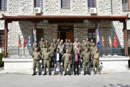 NATO HUMINT Awareness Training in SEEBRIG HQ (19 – 20 June 2019)