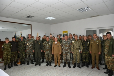 Farewell and Medal Ceremony for G5 plans officer and G5 clerk on 22nd March 2019, Tyrnavos/Larissa Na-3