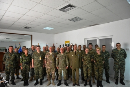 Farewell and Medal Ceremony for CG7 and SECCOS Clerk on  19  June 2019 Tyrnavos/Larissa Na-3