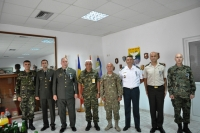 Farewell and Medal Ceremony for DCOSOPS, DCOSSUP, SECCOS, CG2, POLAD, CG8, G3 Training OFF, G3 OPS OFF, DCOSSUP Clerk on  13th and 27th  July 18 Tyrnavos/Larissa Na-3