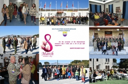 COMSEEBRIG's message on the occasion of the International Women's Day