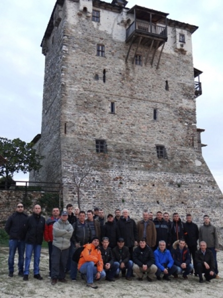 Cultural trip to Saint Athos for SEEBRIG's Nucleus Staff, 18 - 19 November 2017