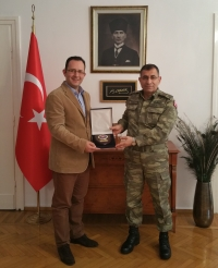 Visit of COMSEEBRIG to Na-7 Consul General, Thessaloniki, 15 Mar 2017