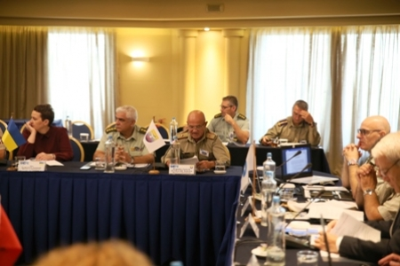 40th PMSC and 39th SEDM-CC Meetings of the South East Europe Defence Ministerial Process 11 -13 Sep 18, Athens, Na 3