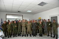 Farewell and Medal Ceremony for G1 Plans and G8 Clerk Officers on 26 July 2019 Tyrnavos/Larissa Na-3