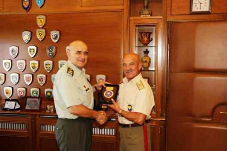 Visit of COMSEEBRIG to Commanders of Neighboring Units in the Area, Larisa and Thessaloniki, Na3, 08-12 September 2017
