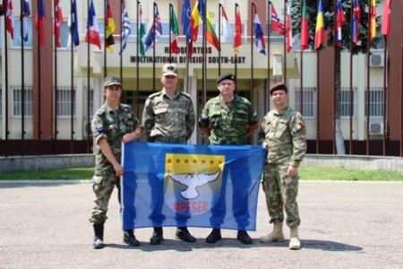 "Participation of SEEBRIG personnel in ""SABER GUARDIAN"" Exercise,  3-7 June 2019, Bucharest, Na 6"
