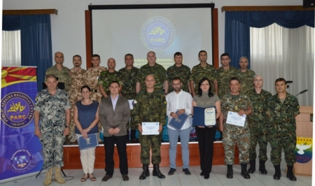 Crisis Communication Course, in SEEBRIG HQ  Tyrnavos (Na 3), 6 – 8 June 2017