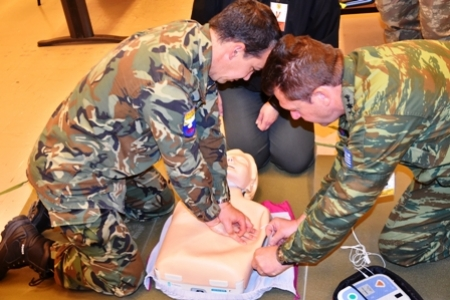 First Aid Course for SEEBRIG nucleus staff, Tyrnavos, Na 3, 9th April 2019