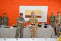 Farewell and Medal Ceremony for CG6 on 9th June 17  Tyrnavos/Larissa Na-3