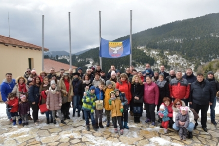 Social Trip for SEEBRIG HQ nucleus staff and their families to Karpenisi, Na 3 from 16 to 17 Feb 19