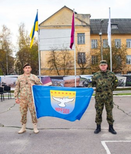 "Participation of SEEBRIG personnel in ""MAPLE ARCH 19"" Exercise  from 27 Oct to 9 Nov 19, Zhitomir/Ukraine"